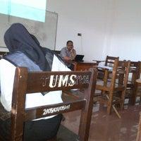 Photo taken at Universitas Muhammadiyah Sidoarjo by Mona A. on 5/5/2012
