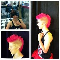 Photo taken at Scream Salon by Vanessa V. on 7/31/2012