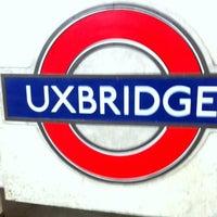 Photo taken at Uxbridge London Underground Station by KVB on 5/14/2012