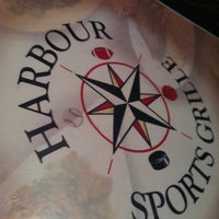 Photo taken at Harbour Sports Grille by Novel A. on 2/26/2012