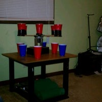 Photo taken at Chillpong! by Zach M. on 3/18/2012