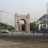 Photo taken at Independence Gate by Seung-taeck L. on 6/3/2012