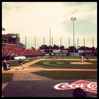 Photo taken at Coca-Cola Field by Kevin M. on 7/22/2012