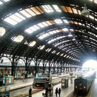 Photo taken at Milano Centrale Railway Station by Veneziadavivere on 4/16/2012