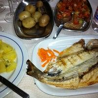 Photo taken at Restaurante Casablanca by Luis B. on 8/9/2012