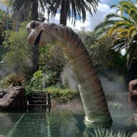 Photo taken at Jurassic Park: The Ride by Nadia W. on 4/14/2012