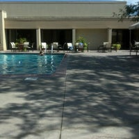 Photo taken at The Pool at the Marriott Omaha by Brenda B. on 8/2/2012
