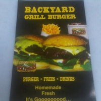 Photo taken at Backyard Grill Burger by Adrin A. on 5/2/2012
