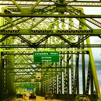 Photo taken at Interstate Bridge by Jason A. on 6/17/2012
