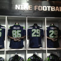 Photo taken at The Pro Shop at CenturyLink Field by Rob W. on 4/27/2012