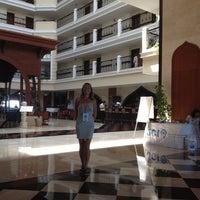 Photo taken at Crowne Plaza Antalya by Ozlem Y. on 7/13/2012