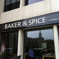 Photo taken at Baker & Spice by Chong C. on 4/4/2012
