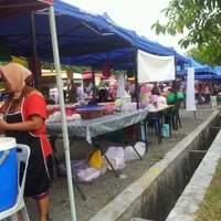 Photo taken at Bazaar Ramadhan Seksyen 7 by Sheira D. on 8/2/2012