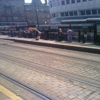 Photo taken at Cathedral Tram Stop by Paul W. on 6/29/2012