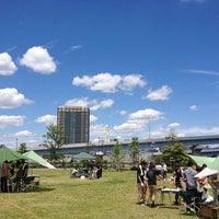 Photo taken at Tokyo Rinkai Disaster Prevention Park by Satoshi K. on 6/10/2012