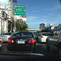 Photo taken at Ratchada-Lat Phrao Intersection by Nexxs N. on 8/14/2012
