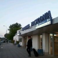 Photo taken at Warsaw West Railway Station by Monika K. on 6/21/2012
