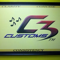 Photo taken at C3 Customs by C3 Customs I. on 2/2/2012