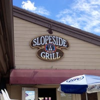 Photo taken at Slopeside Grill by Tori Q. on 7/26/2012