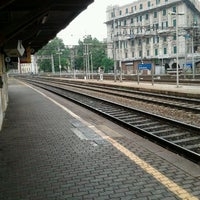 Photo taken at Genova Sampierdarena Railway Station by Alessandro Y. on 6/3/2012
