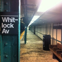 Photo taken at MTA Subway - Whitlock Ave (6) by James C. on 3/18/2012