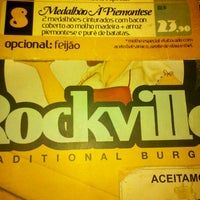 Photo taken at Rockville Traditional Burger by Felipe C. on 6/10/2012