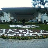 Foto scattata a Akka Antedon Hotel da Merve il 2/19/2012