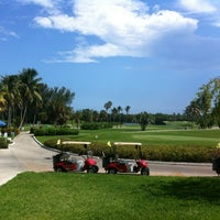 Photo taken at Crandon Golf at Key Biscayne by Juan F. G. on 5/27/2012