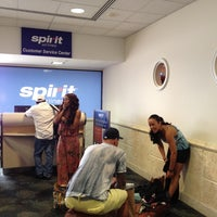 Photo taken at Spirit Airlines Flight 336 by Cliff C. on 7/8/2012