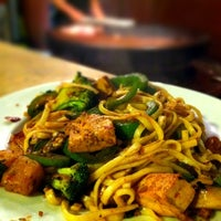 Photo taken at Mongolian Grill San Jacinto by Jerry S. on 3/12/2012