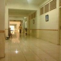 Photo taken at Universitas Krisnadwipayana (Unkris) by Johnson Parulian N. on 9/8/2012