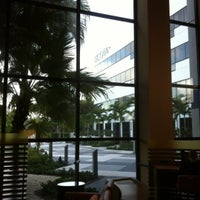 Photo taken at Sheraton Fort Lauderdale Airport & Cruise Port Hotel by Kai Z. on 3/11/2012