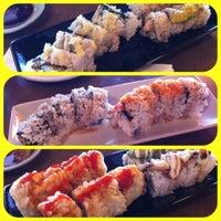 Photo taken at Sushi K by Gladys L. on 6/8/2012