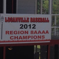 Photo taken at Loganville Red Devil Baseball Field by Melody W. on 5/21/2012