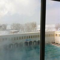 Photo taken at Бассейн ЦСК ВВС by Ilya C. on 3/12/2012