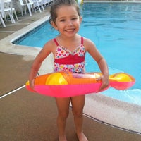 Photo taken at Gmoms Poolside by Amanda D. on 7/29/2012