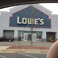 Photo taken at Lowe's Home Improvement by Hillary B. on 3/24/2012