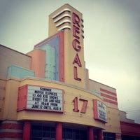 Photo taken at Regal Cinemas Village Park 17 by Jay A. on 7/20/2012