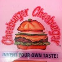 Photo taken at Cheeburger Cheeburger by Nick S. on 4/21/2012