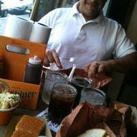 Photo taken at Hill Country Barbecue Market by Mitch M. on 6/16/2012