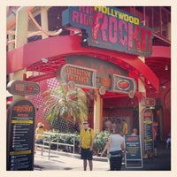 Photo taken at Hollywood Rip Ride Rockit by Orlando Informer on 5/2/2012