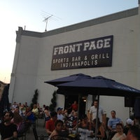 Photo taken at Front Page Sports Bar & Grill by Ben R. on 7/5/2012