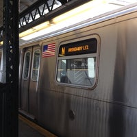 Photo taken at MTA Subway - Astoria/Ditmars Blvd (N/W) by Kenneth W. on 6/28/2012