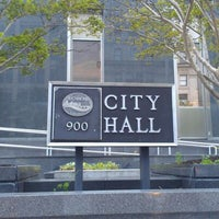 Photo taken at Richmond City Hall by Gretchen L. on 4/19/2012