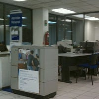 Photo taken at BBVA Bancomer Sucursal by Enrique G. on 4/27/2012