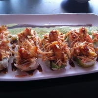 Photo taken at Sushi Factory by Edgar S. on 7/12/2012