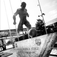 Photo taken at Museu Futbol Club Barcelona by Tommy T. on 8/5/2012