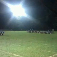 Photo taken at Walland Youth Football Field by Jonathan O. on 9/7/2012