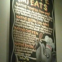 Photo taken at Native Foods by P J. on 7/14/2012