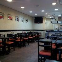 Photo taken at Stillus Burger by Richard M. on 8/2/2012